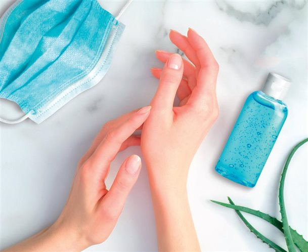 Protect your health, clean your hands