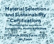Talk on Sustainability Chemistry in Construction