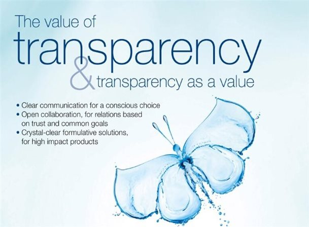 The Value of transparency & Transparency as a value