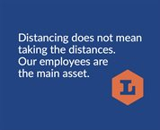 Distancing does not mean taking the distance