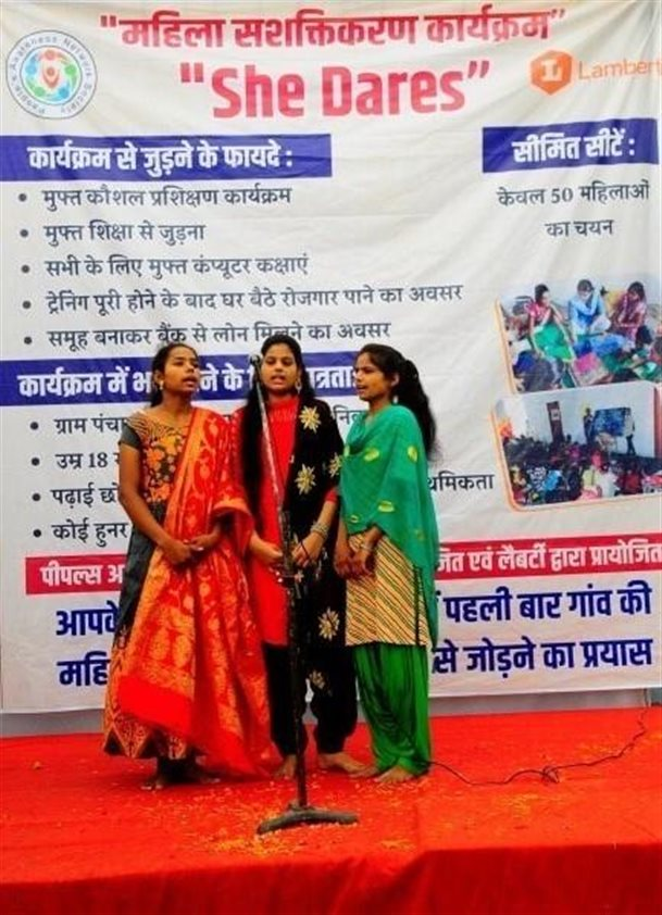 Inauguration Ceremony of She Dares